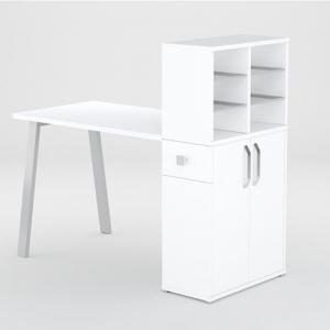 Маникюрный стол FORMIX 12889 Белый снег/Белый снег