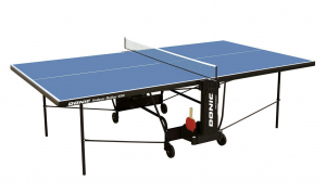 Теннисный стол Donic Indoor Roller 600 синий 230286-B